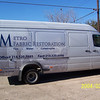 "Vehicle wrap on a Sprinter for Metro Fabric Restoration in Dallas, TX.   <br /> <a href=""http://www.skinzwraps.com"">http://www.skinzwraps.com</a>"