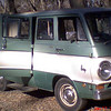 "This great old van was dubbed the ""SnotRocket"" by a 15 year old boy, because it ""green and it flies!"" What can I say......he wasn't lyin', and the name stuck."