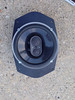 "Aftermarket speaker mounted to speaker adapter  from  <a href=""http://www.car-speaker-adapters.com/items.php?id=SAK045""> Car-Speaker-Adapters.com</a>"