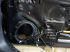 Factory speaker removed