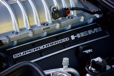 Dodge Challenger Hellcat Engine