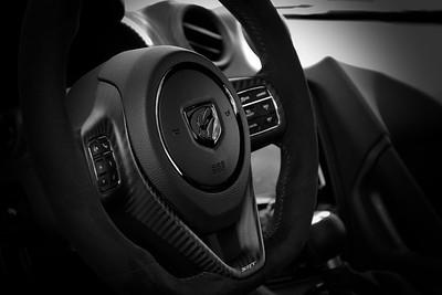 Dodge Viper ACR Steering Wheel