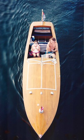 Boating on Conesus Lake NY - Photo By Hans Strom