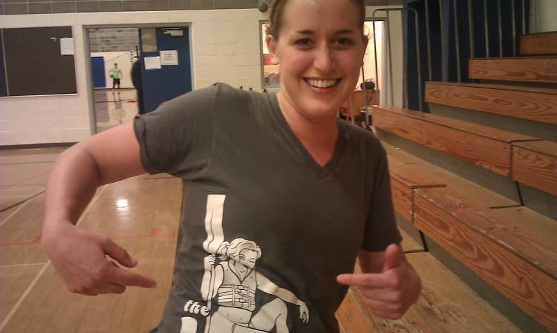 Emily Schmitt - Best off court presence