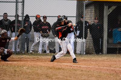 Dodgeville @ Fennimore Baseball 4-1-19
