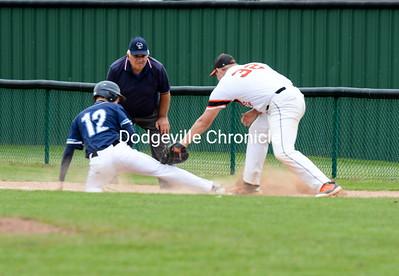 Dodgeville vs McFarland Baseball 5-21-19