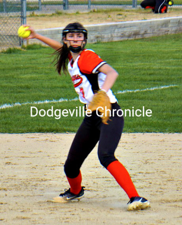 Dodgeville vs River Valley Softball 5-14-19