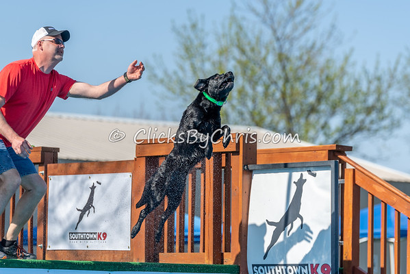 NADD / AKC Dock Diving Trial - Southtown K9 - Saturday, May 5, 2018