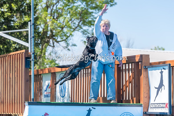NADD / AKC Dock Diving Trial - Southtown K9 - Saturday, May 6, 2017