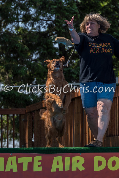 UAD / UKC Dock Diving Competition - UAG Regional Qualifier - Southtown K9 - Sunday, May 22, 2016