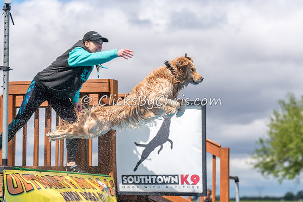 UAD / UKC Dock Diving Competition - UAG Regional Qualifier - Southtown K9 - Sunday, May 21, 2017