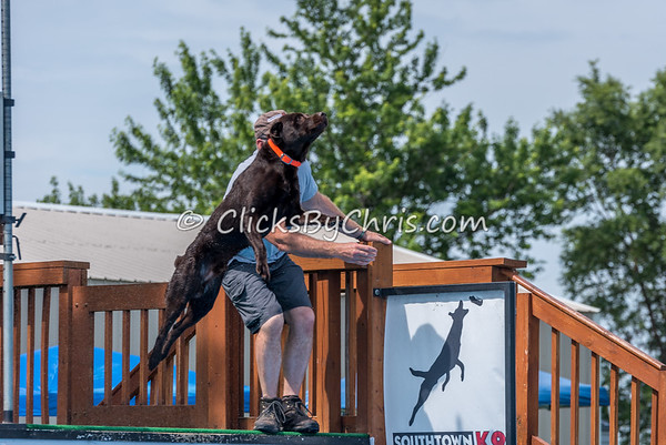 NADD / AKC Dock Diving Trial - Southtown K9 - Sunday, June 4, 2017