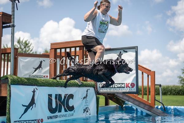 NIKA Dock Diving - Northern Illinois K9 Association - Southtown K9 - Sunday, July 29, 2018