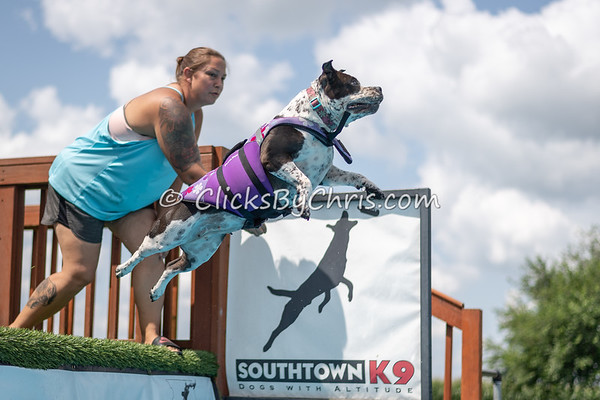 NIKA Dock Diving - Northern Illinois K9 Association - Southtown K9 - Sunday, July 29, 2018