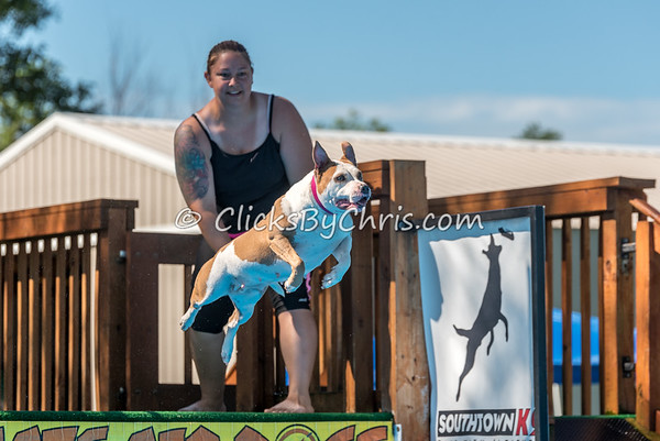UAD / UKC Dock Diving Competition - Southtown K9 - Saturday, Aug. 6, 2016