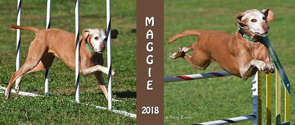 Rowley Maggie black mug