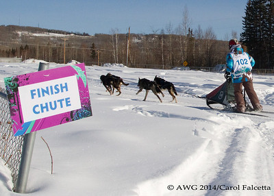 March 17 2014, Taryn Beck NWT 6th final position