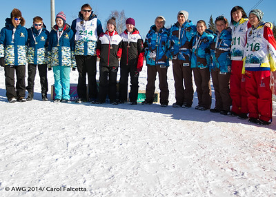 March 20 2014 Teams from Alaska, Yukon, Northwest Territories and Nunavut
