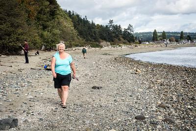 Double Bluff Dog Park,  Whidbey Island, Washington