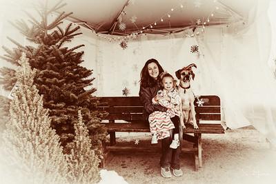 Natalie, Audrey & Buster