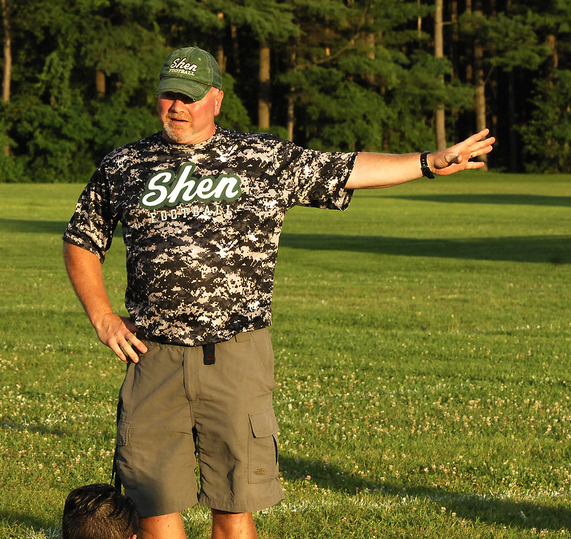 . STAN HUDY - SHUDY@DIGITALFIRSTMEDIA.COM - PHOTOS: 2017 Dog Pound Lineman Camp at Shenendehowa