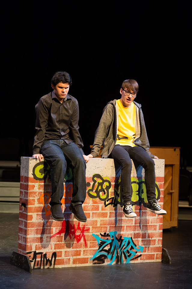 Masque and Dagger production of Dog Sees God: Confessions of a Teenage Blockhead