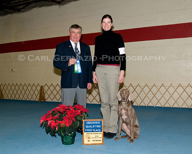 Winner's Photos Obedience - Sunday, December 14, 2008