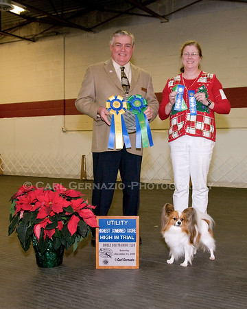 Winners Portraits - Saturday, December 13, 2008