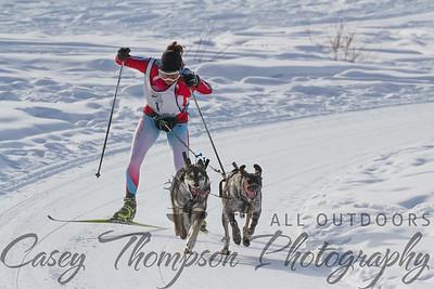 Jamie Johnson - LNAC Day 2 - Skijoring