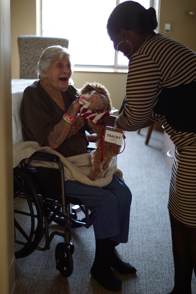 Pet Therapy at JHR