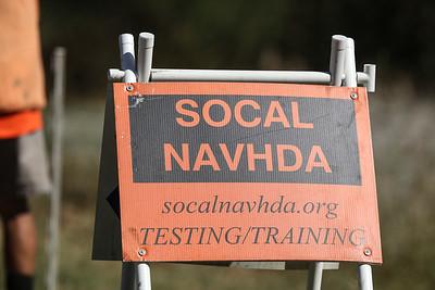 SoCal NAVHDA UT/NA test September 2018