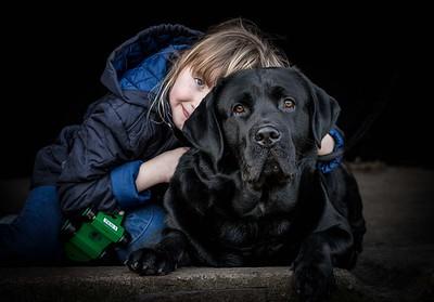 Dog Photographer Andy Biggar Photography Portrait of a Labrador