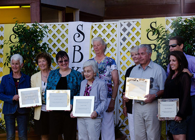 Honorees from each breed group.