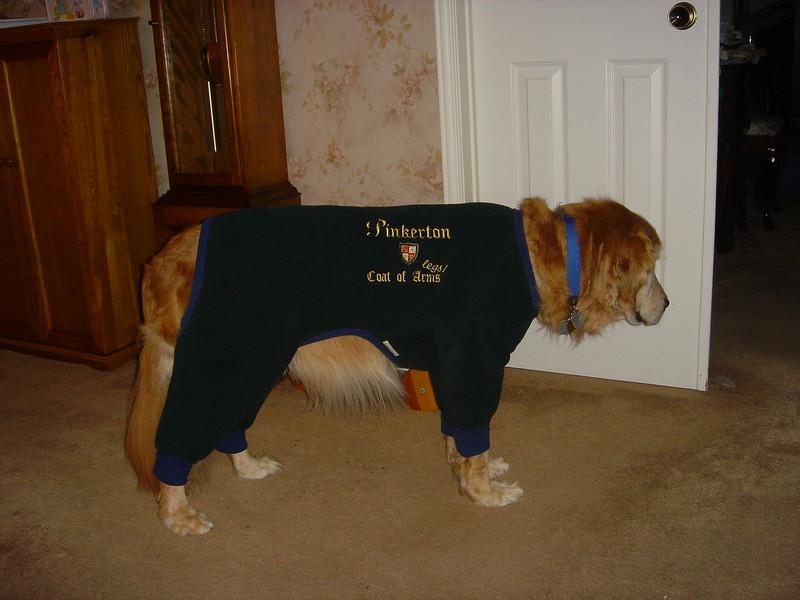 Pinkerton's coat