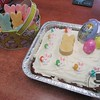 The adorable cake and treats for the Easter party today!