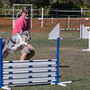 Indy and I at CPE agility Trial