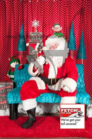 Santa 2015 Bark n Bites and Streeterville 360