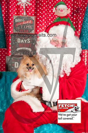Santa 2015 Bark n Bites and Streeterville 385