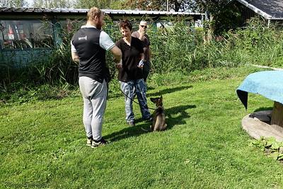 Max met Ruben en Klara