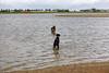 Pim en Fabio in het water2