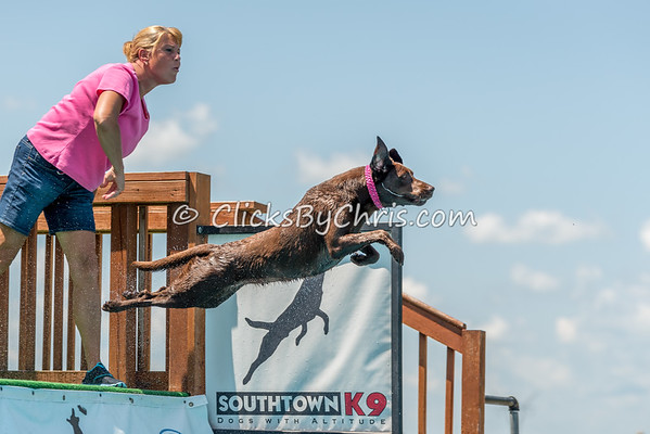 NADD / AKC Dock Diving Trial - Southtown K9 - Sunday, July 23, 2017