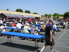 The crowd for food and presentations (VEP Memorial Day Festival and Dog Agility Demo)