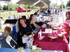 Vendors at the festival (VEP Memorial Day Festival and Dog Agility Demo--Photo by Marilyn Rodgers)
