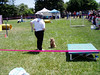 In the background: Gerry and Jaime; foreground Monica and Sammy (VEP Memorial Day Festival and Dog Agility Demo--Photo by Marilyn Rodgers)