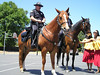 Mounted police and hula dancers (VEP Memorial Day Festival and Dog Agility Demo)