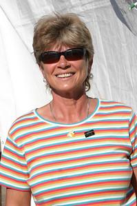 Sharon Murphy sports her new Cynosports pin.