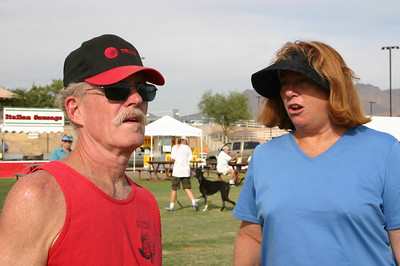 Mike K and Gail M