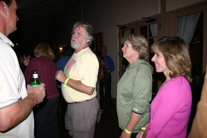 At the awards banquet: Jim B, Robert G, Kathy V, Sarah J