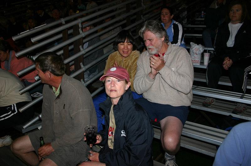scott, gwen, linda, robert watching some assorted finals