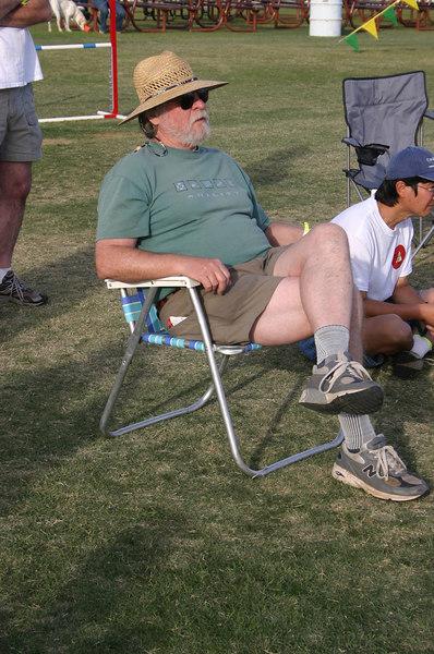 Robert G evaluating the course runs